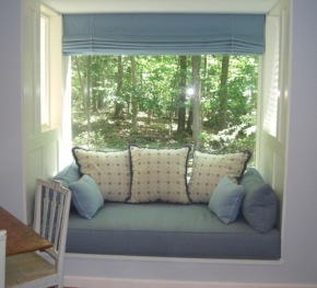 daybed in window